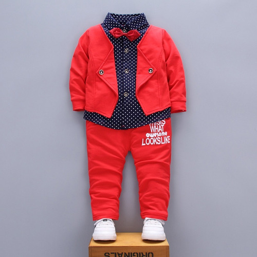 conjunto para menino festa importado social inverno roupa