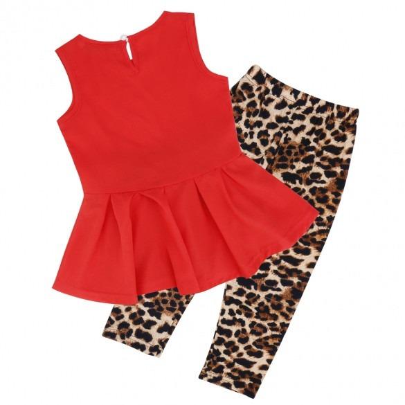 3381d4eb9 Conjunto Para Niña Blusa Y Pantalon Leopardo Moda Japonesa ...