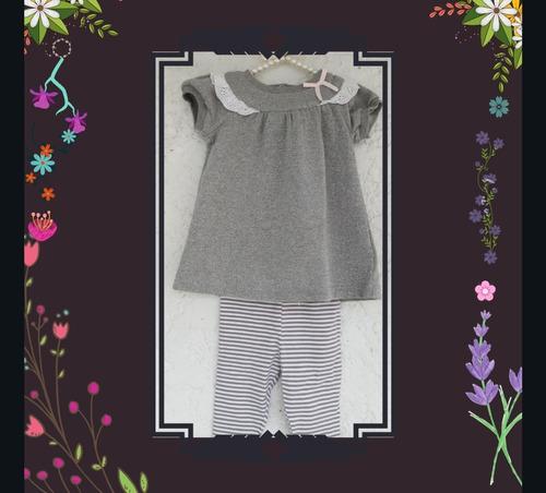 conjunto para niña/ leggins y blusa para niña/ vestido niña