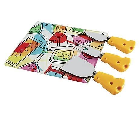conjunto para queijo 04 pçs
