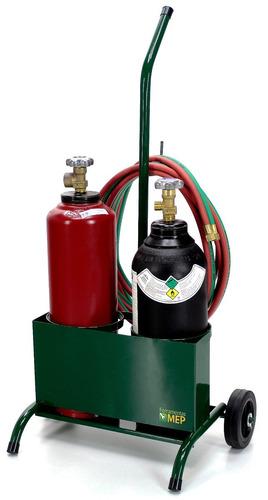 conjunto para solda oxi-acetileno ppu aparelho completo