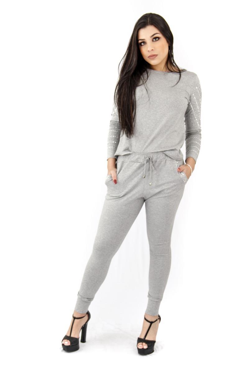 e0a107e29 conjunto pedraria moda atual roupas femininas moda feminina. Carregando zoom .