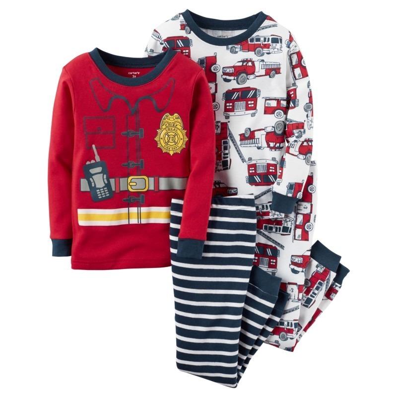 9378f9912b Conjunto Pijama Bebe Carters Bombero 1 Remera + 1 Pantalón -   390 ...