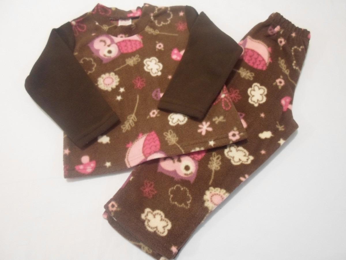 81a37c67c Conjunto Pijama Polar Para Niña 4 Años -   220.00 en Mercado Libre