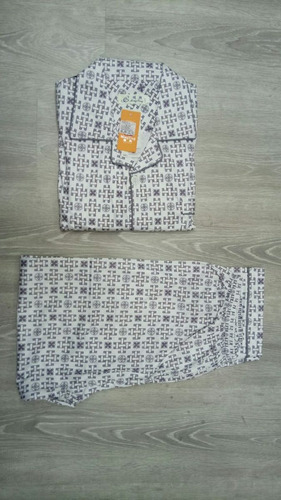 conjunto pijama regalo dia del padre algodón seda importada