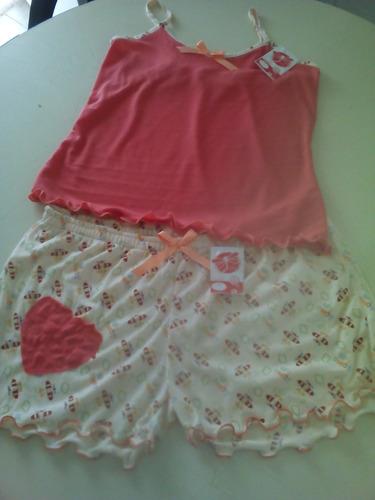 conjunto pijamas para damas