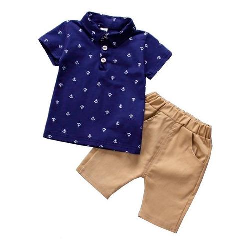 conjunto playera pantalón niños bebé 6m - 5 años moda ropa