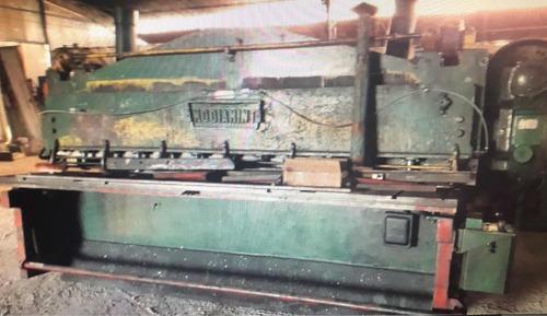 conjunto plegadora guillotina diamint 3000x6mm envío ínterio