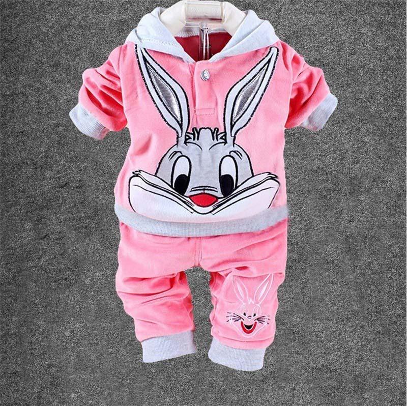 conjunto plush bebê com touca orelha de coelho inverno rosa. Carregando  zoom. 5c81481dea0