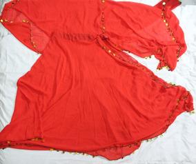 0109b5fd1d Pollera Roja Para Danza Arabe - Ropa y Accesorios en Mercado Libre ...