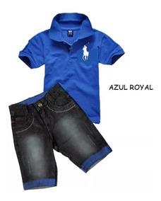 bfc881898 Conjunto Bermuda Camiseta - Calçados, Roupas e Bolsas com o Melhores ...