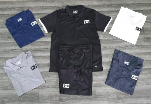 conjunto polo + pantaloneta