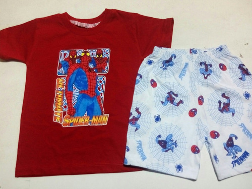 conjunto polo + short en algodón jersey