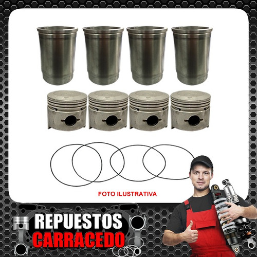 conjunto power engine indenor xd 4.88