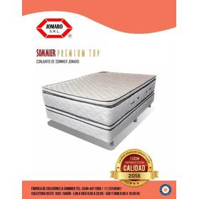 Conjunto Premium Top Resorte 140x190