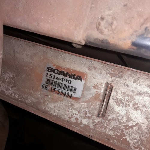 conjunto radiador água intercooler c/ defletor scania p 420