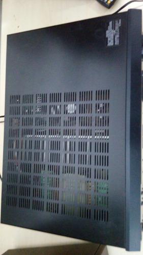 conjunto receiver tx 8555 dvd sp303 onkyo ok! veja o video