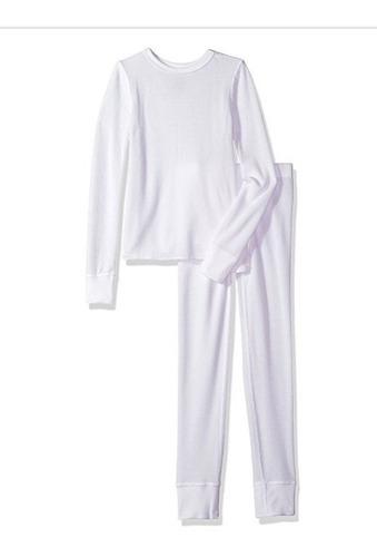 conjunto remera + pantalon termico primera piel  para niños