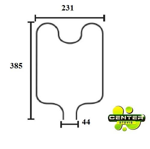 conjunto resistencia forno eletrico layr cristal 1750w 110v