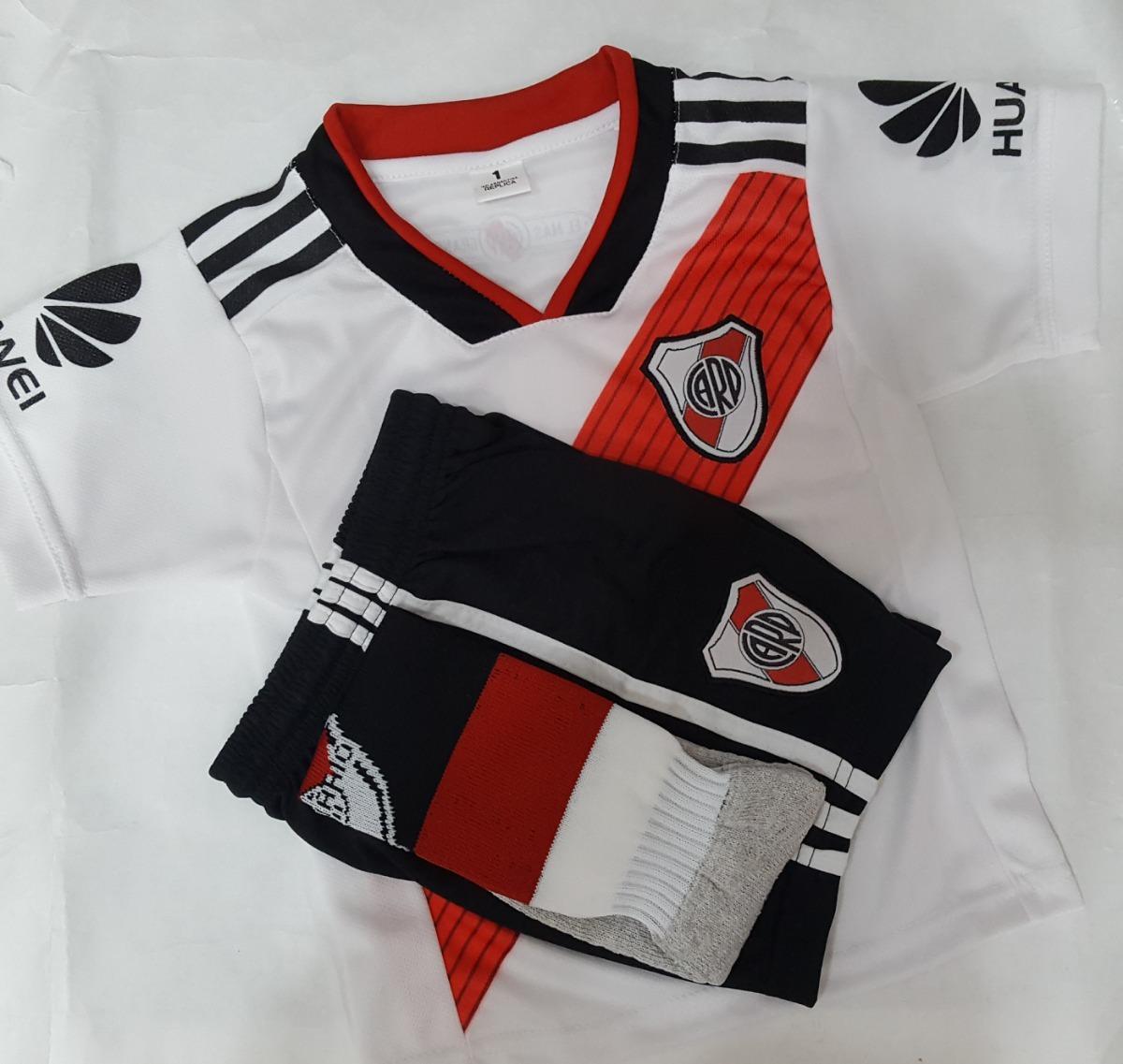 bb15e2986 Conjunto River Temporada 2018-19 Camiseta Short Y Medias -   800