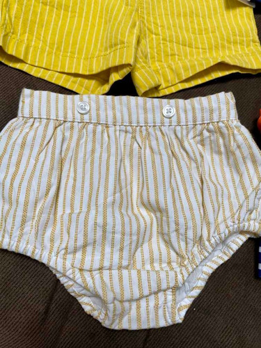 conjunto ropa bebé 6 meses playa impecable fullsand, gocco,