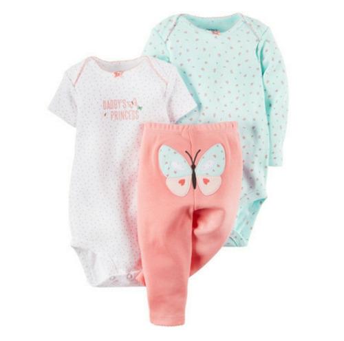 conjunto ropa bebe niño carter´s 3 piezas