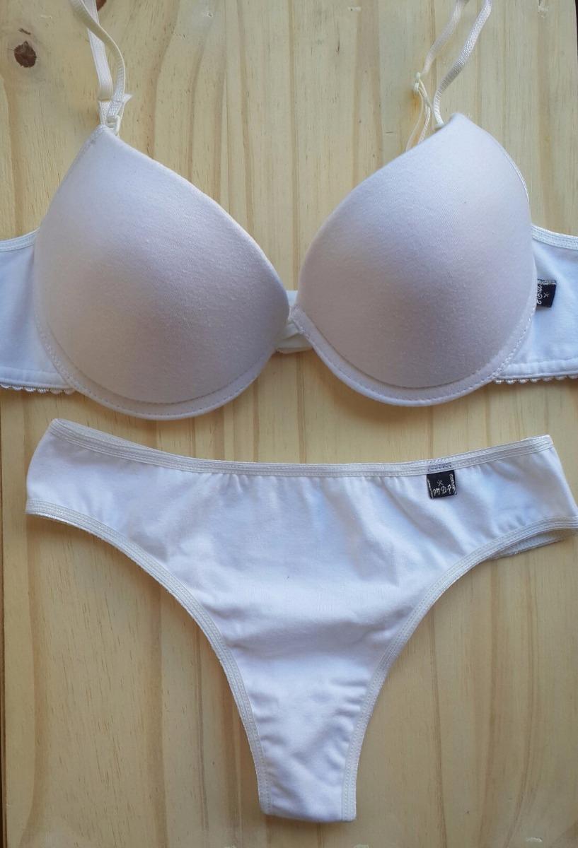nueva lanzamiento alta moda nuevas variedades Conjunto Ropa Interior Corpiño Mujer Soft Culote Algodón New