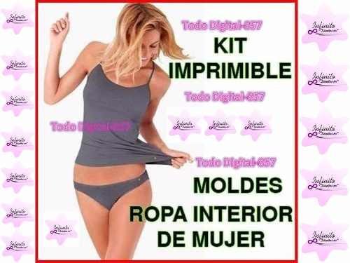conjunto ropa interior mujer