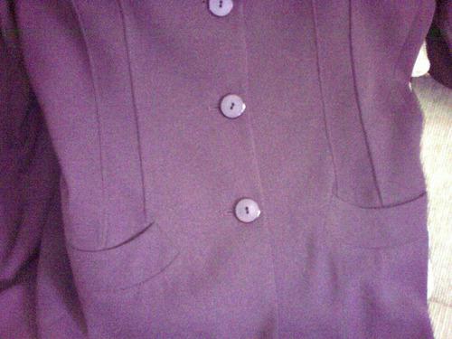 conjunto saco y pantalon