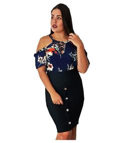 ca46c7beb3c8 Saias Moda Evangelica Vestidos - Calçados, Roupas e Bolsas com o Melhores  Preços no Mercado Livre Brasil