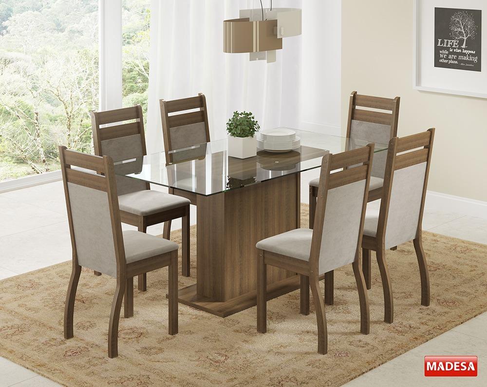 Conjunto Sala De Jantar Mesa 6 Cadeiras E Buffet Lion R 149990