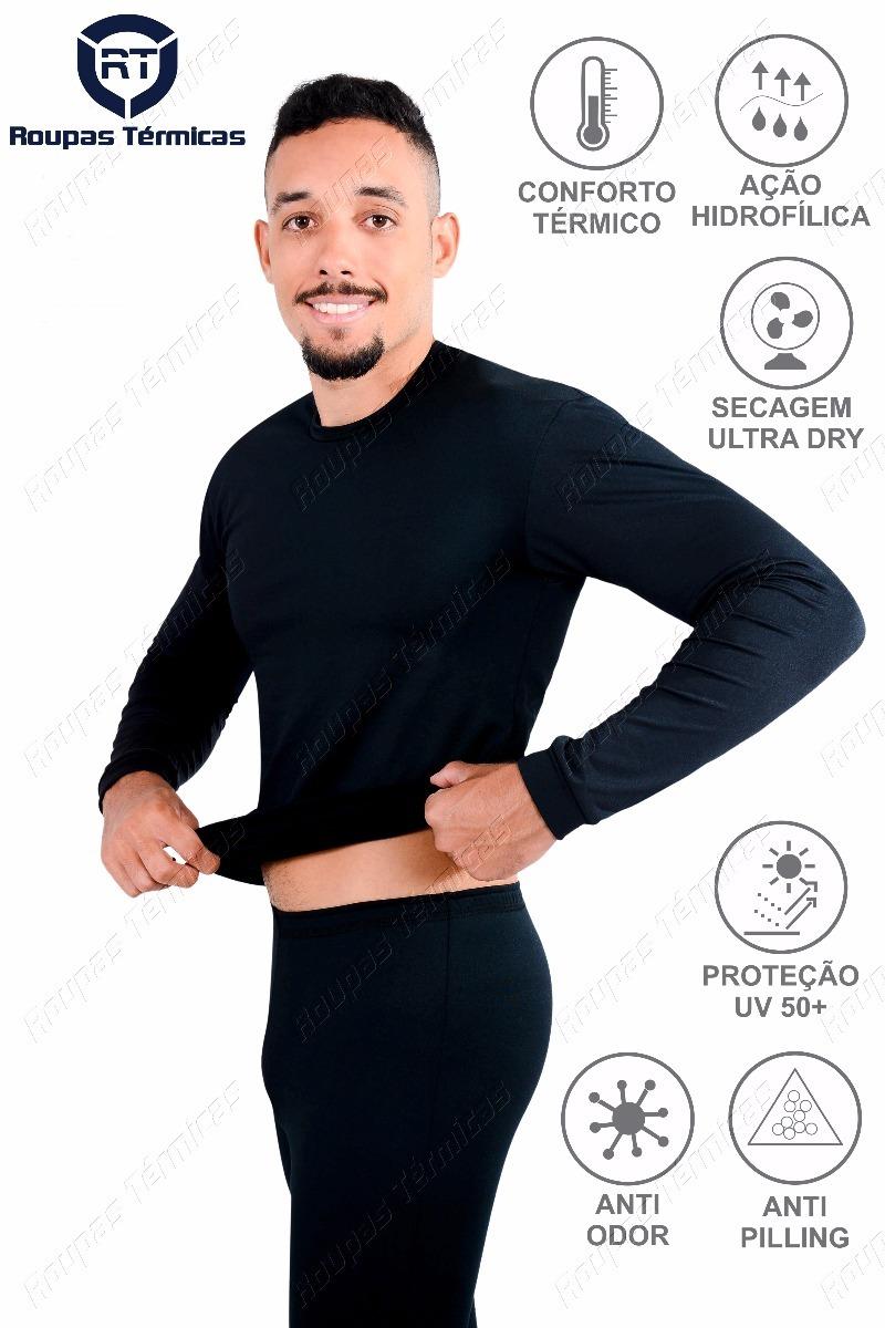 3f0013481 conjunto segunda pele roupas térmicas frio intenso proteção. Carregando zoom .
