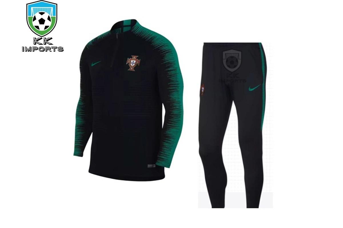 02bce1d90 conjunto seleção portugal 2018 uniforme 2 sob encomenda. Carregando zoom.