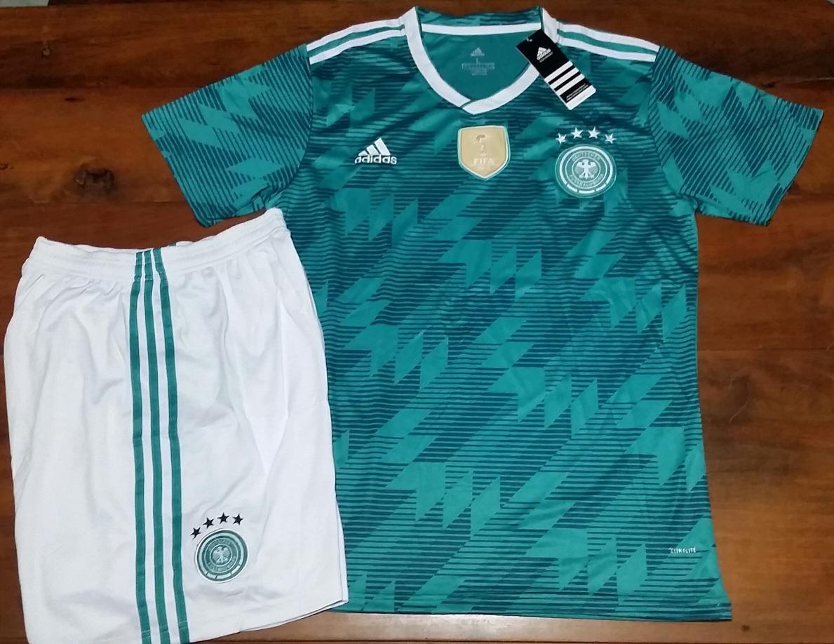 23a66d97ab74d Conjunto Short + Camiseta Seleccion Alemania Oficial 2018 -   1.490 ...