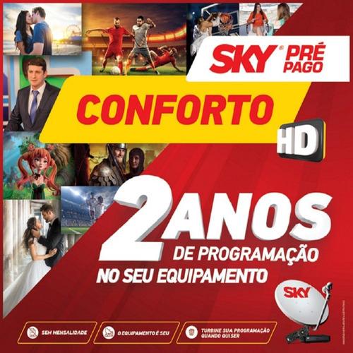 conjunto sky 60 cm conforto hd century 120