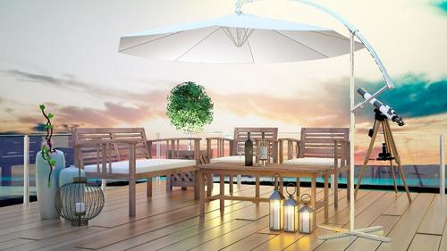 conjunto  sofá banco poltronas e mesa de madeira