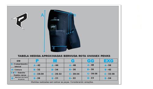 conjunto speed biking penks camisa+bermuda+manguito