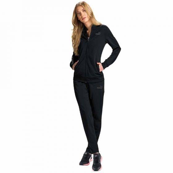 0910a8e38 Conjunto Sport Puma Para Dama. Chaqueta+pants. Color Negro ...