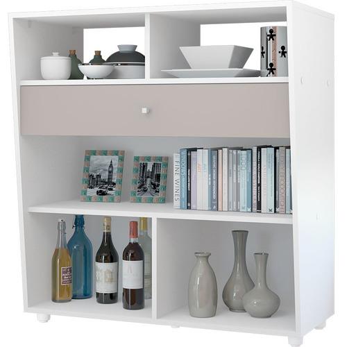 conjunto star: estante, bar e mesa de centro  multimóveis -