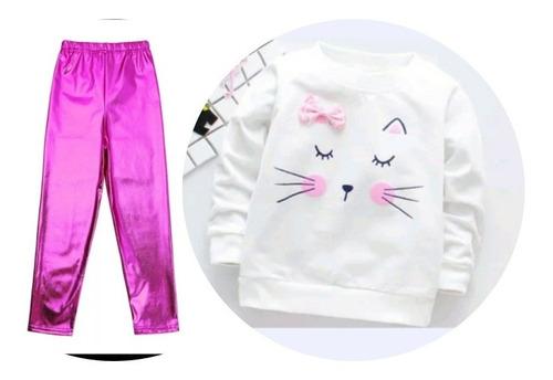 conjunto sudadera bebe niña fashion moda pantalon buso