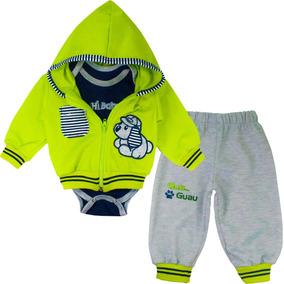 8bbbd3adc Conjunto Sudadera Para Bebe Niño Baby - Verde
