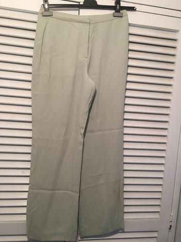 conjunto taller ejecutivo de pantalón y chaqueta verde t 6