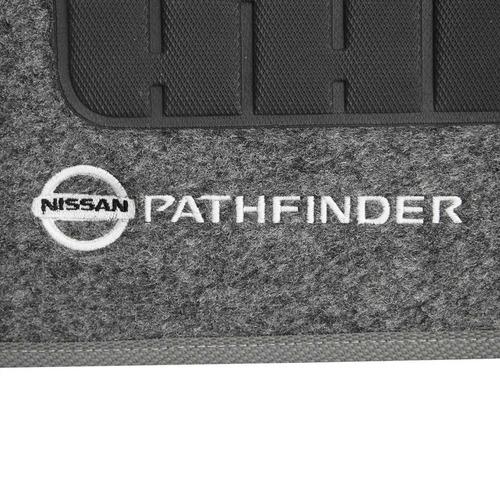 conjunto tapete personalizado pathfinder 92/06 5 pçs grafite