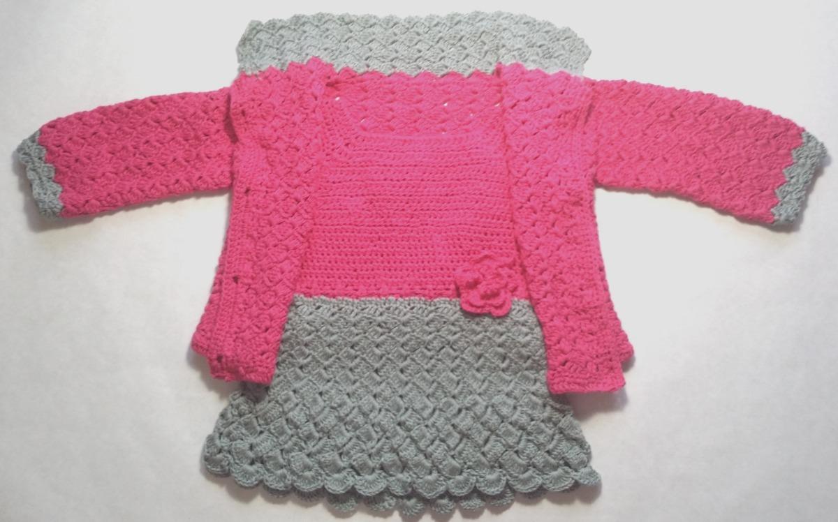 2575e4ef88fe8 Conjunto tejido a crochet para bebes niñas de meses cargando zoom jpg  1200x748 Tejer crochet para