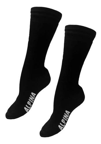 conjunto termico alpina + guantes + cuello + 2p medias sti