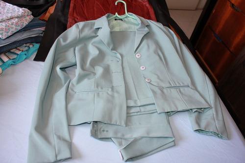conjunto terno calça e casaco tam 40