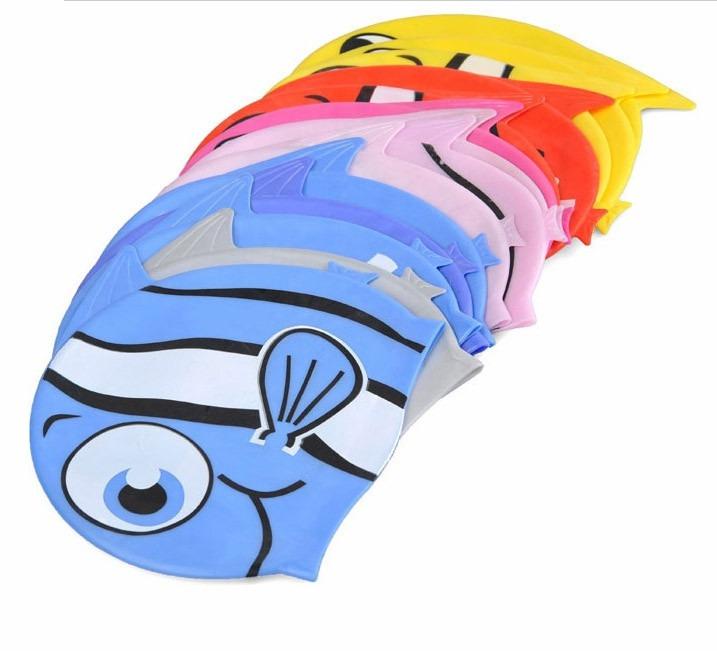 Carregando zoom... conjunto touca infantil + óculos natação infantil  promoção d25c213af07