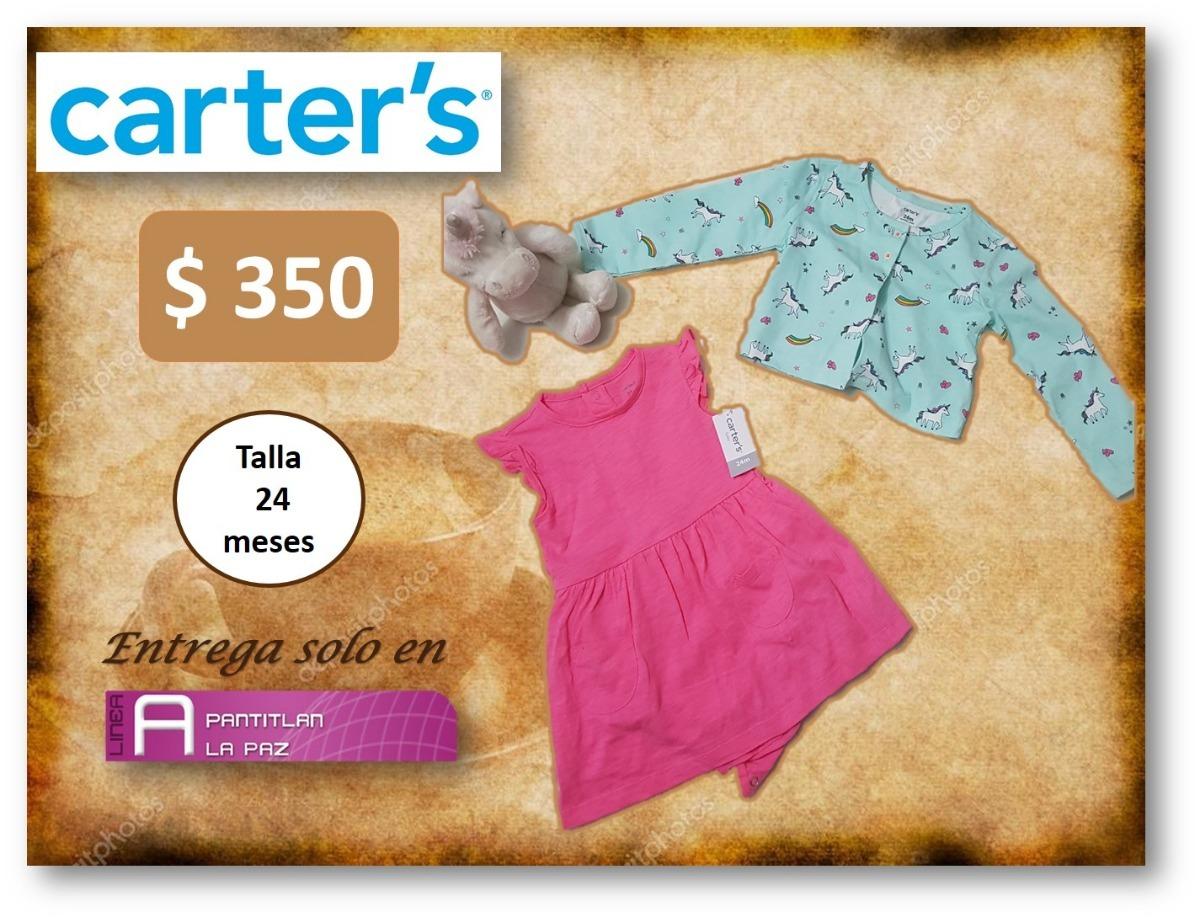 Conjunto Unicornio Vestido Y Sueter Carters 350 00 En Mercado