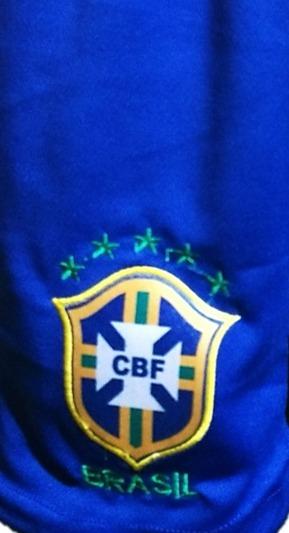 385c17459 Conjunto Uniforme Camisa E Short Do Brasil Infantil Neymar - R  88 ...