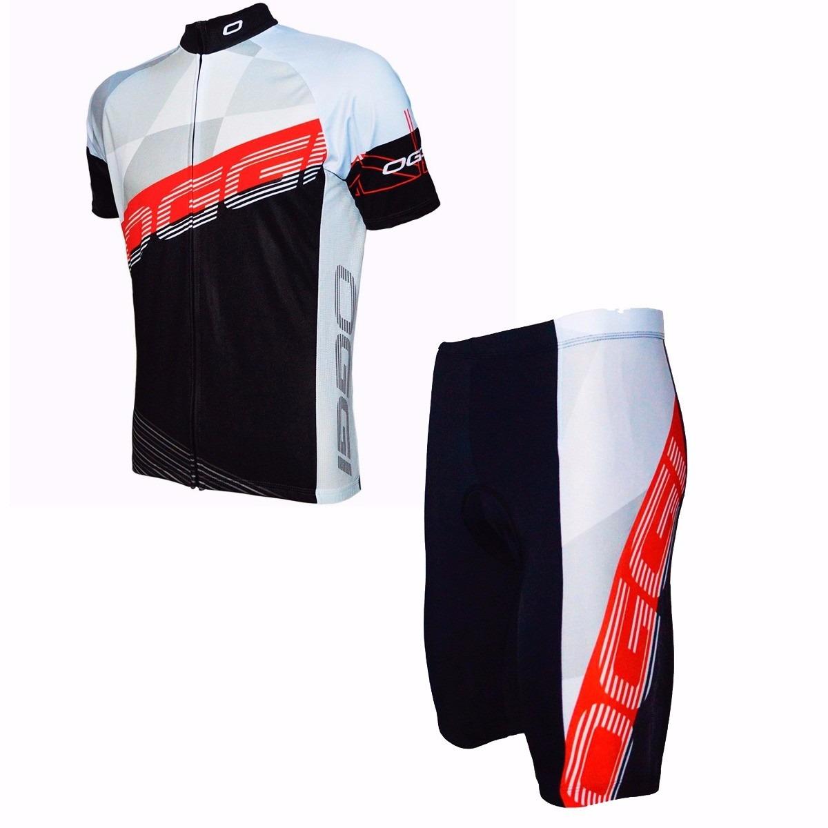 Conjunto Uniforme Ciclismo Oggi Hacker Camisa + Bermuda Bike - R ... 1224b977cdfd5